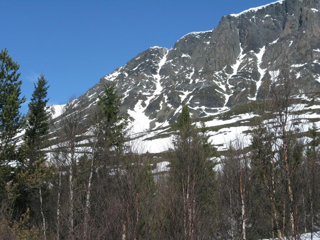 South Couloir of Skogshorn