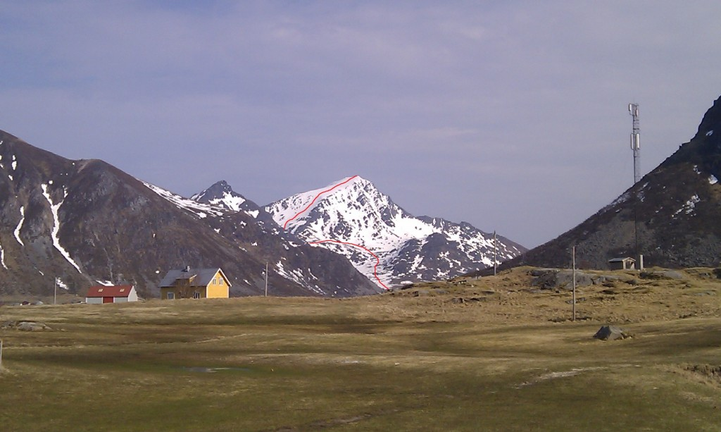 West Face of Stornappstind