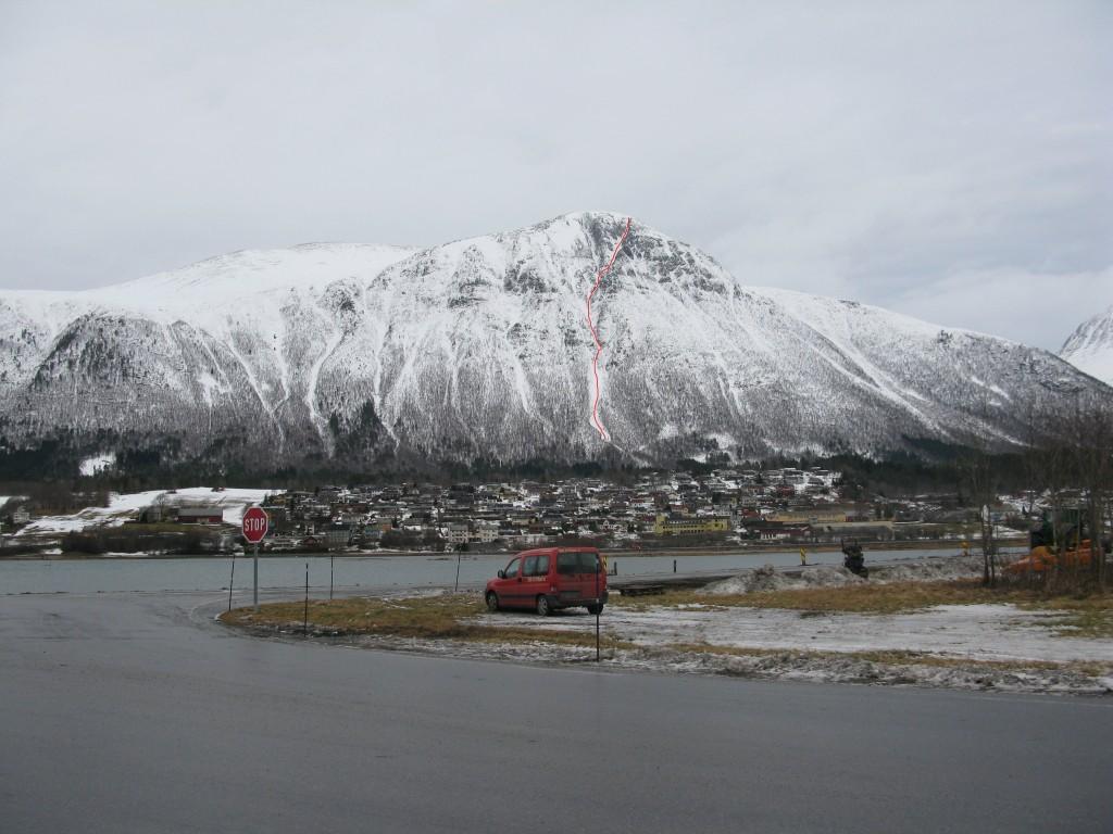 Snortungen (1193m) & Isfjorden