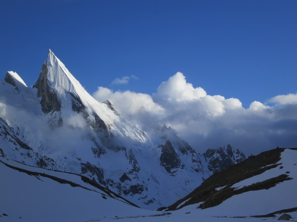 North West Face of Laila Peak taken from Hushpang