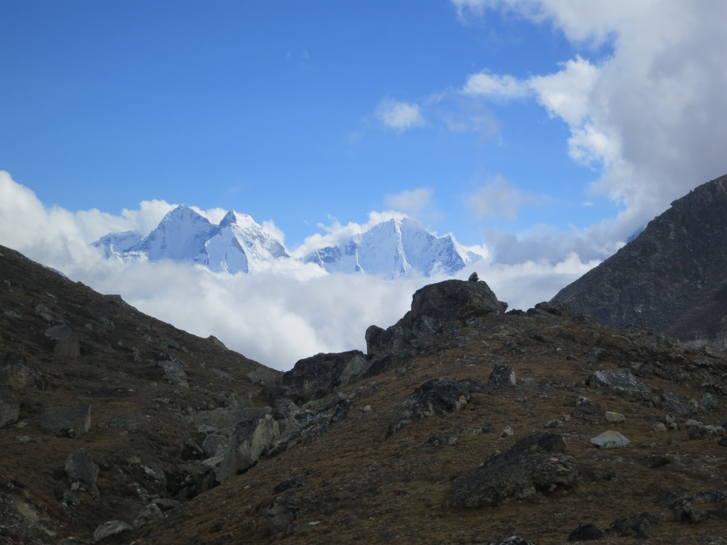 Looking south from Pumori (7,161m), Nepal